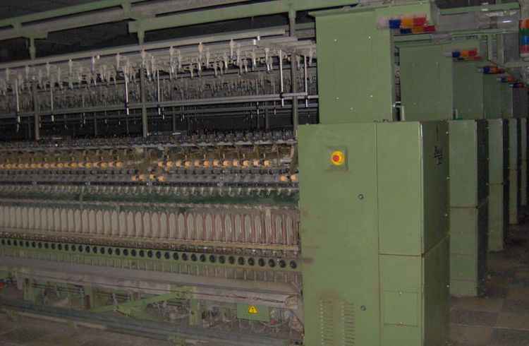 12 Zinser 320 SL Ringframes with 1000 spindles
