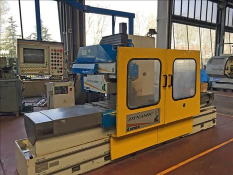 Deber DYNAMIC 2 CNC fixed bed milling machine