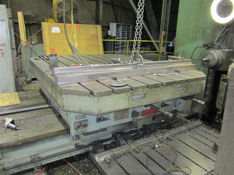 """Toshiba Toshiba Powered Rotary Table, 79"""" x 98"""" with 60"""" of in feed"""