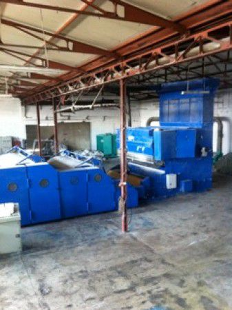 Automatex, Bonino Complete spraybonding and thermobonding wadding line