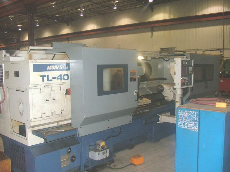 Mori Seiki FANUC 18T CNC CONTROL Max. 2000 rpm TL40B/3000 2 Axis