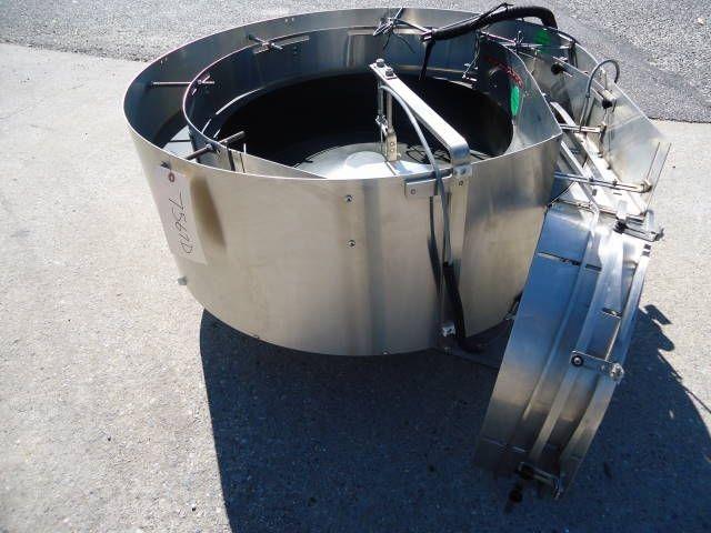 Kaps-All 36 IN. DIAMETER, CENTRIFUGAL BOWL CAP FEEDER