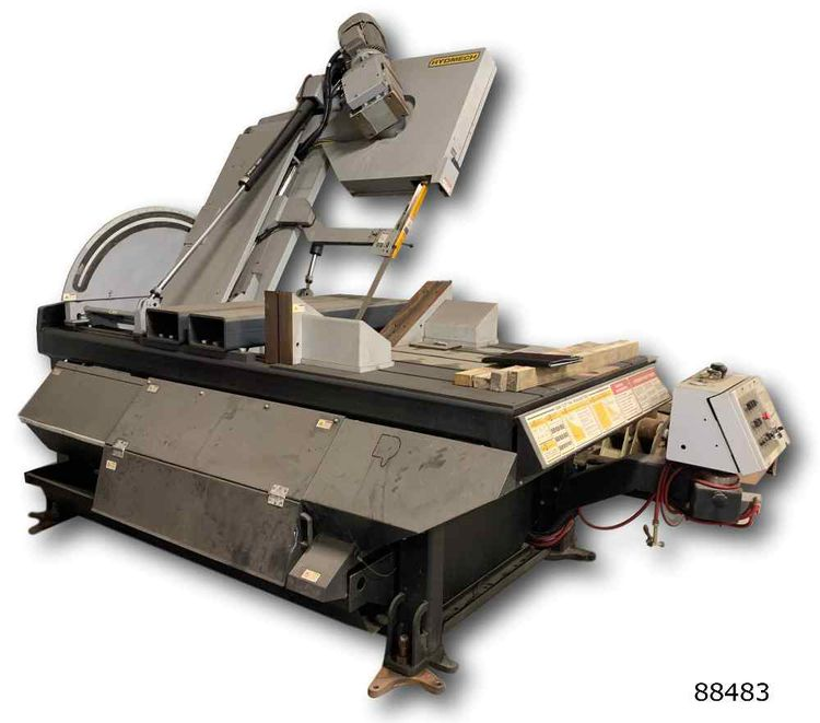 Hyd-Mech HYD-MECH V-25 VERTICAL MITERING   BANDSAW Semi Automatic