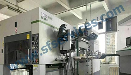 Brausse 1050FHC Hot Foil Stamping and Cutting & Creasing