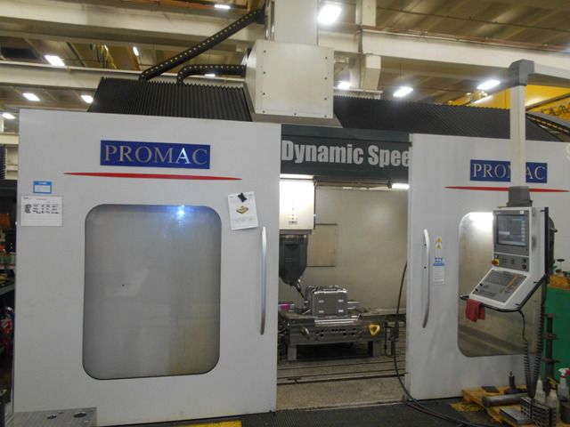 Promac Sharav GVT 3.5 (5) Axis Bridge Mill 5 Axis