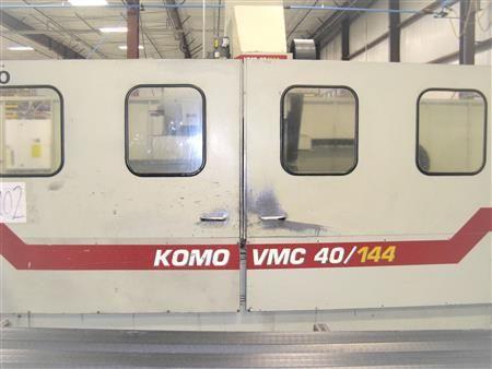Komo VMC 40/144 Fanuc 18i-M 3 Axis
