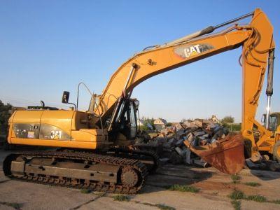 Caterpillar 320 D Crawler excavator