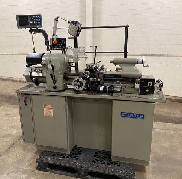 Sharp Precision Tool Room Lathe 4000 rpm 1118H High