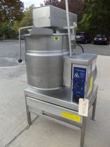 Cleveland MKET-12-T Self-Contained Electric Scraper Kettle