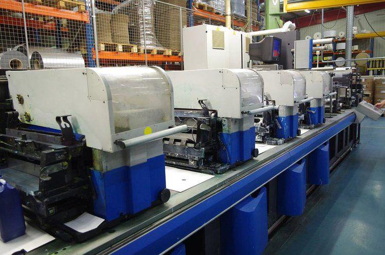 Gallus EMS510, UV Flexo Press 9