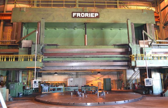 Froriep 9705A CNC VTL