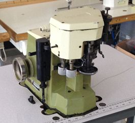 6 Rimoldi 155 OV cup seamer machine
