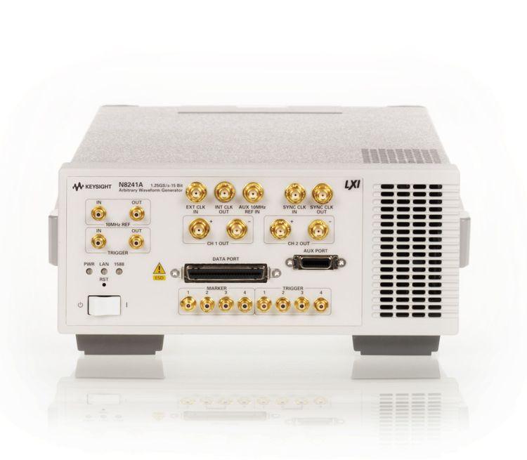Keysight N8241A 15 bit Arbitrary Waveform Generator LXI Module