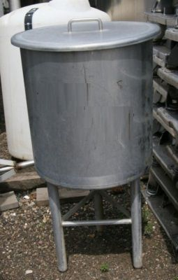 Others Single Shell Stainless Steel Tank 24 Gallon