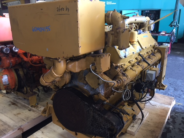 Caterpillar 3412 DIT Marine Engine