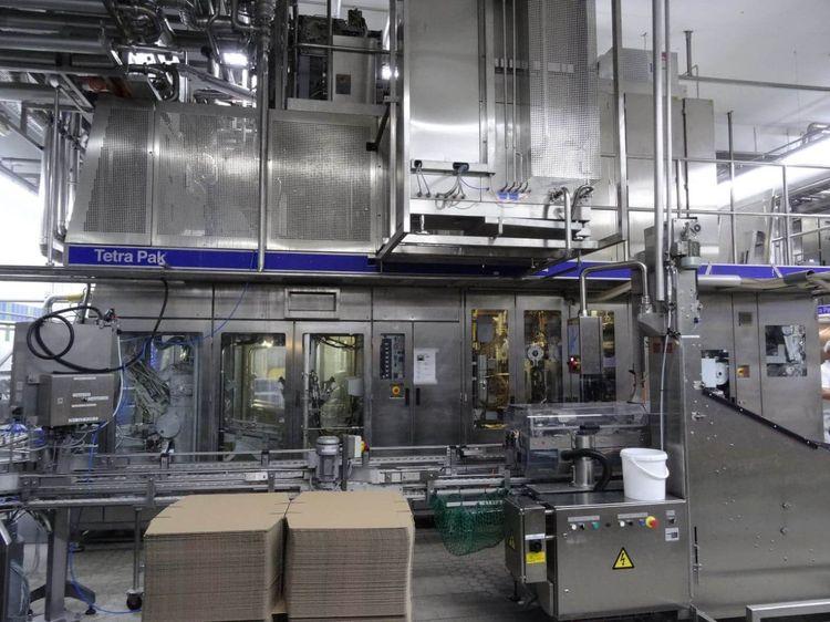 Tetra Pak 2 x C3 Flex, TCBP 70 ZR, Capper 20, C3 Flex, TCBP UL, Capper 20 Bottling plants