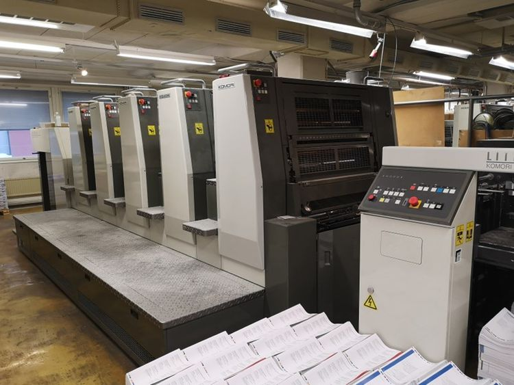 Komori LITHRONE LS 529 H 5 530×750 mm