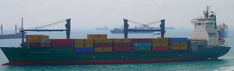 Aker Cellular Container Vessel