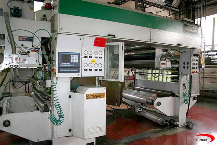 Schiavi ECO CONVERT JUNIOR Laminator / coating machine SOLVENTLESS