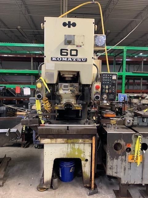 Komatsu OBS-60-2 Gap Frame Press 66 Ton