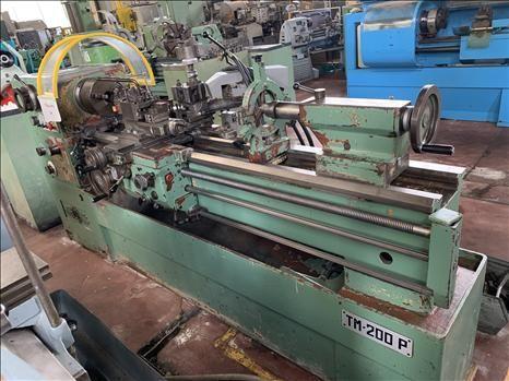 PBR Parallel lathe 1500 rpm TM 200 P