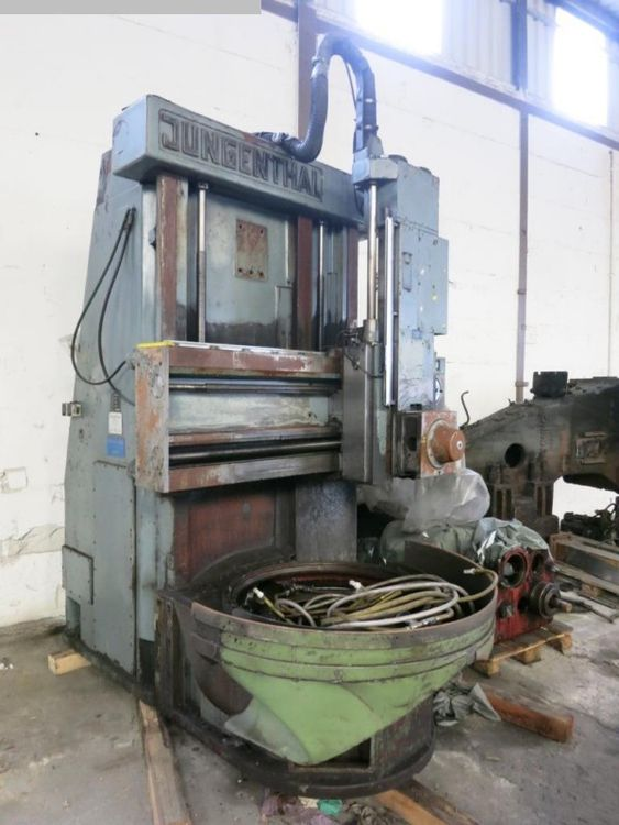 Jungenthal DK1200 Vertical Turret Lathe - Single Column