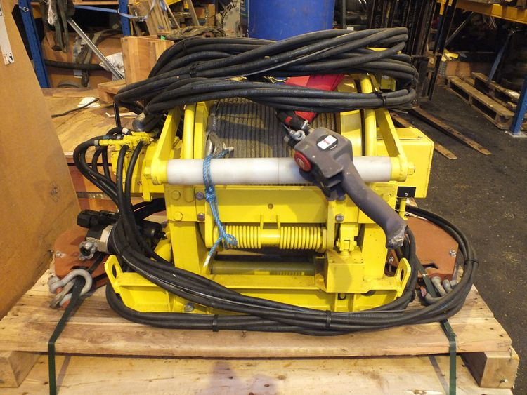 Others Air driven winch for personnel transport