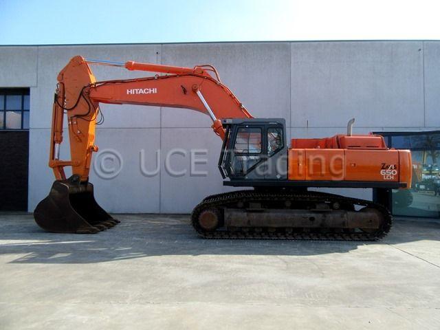 Hitachi ZX650LCH Tracked Excavator
