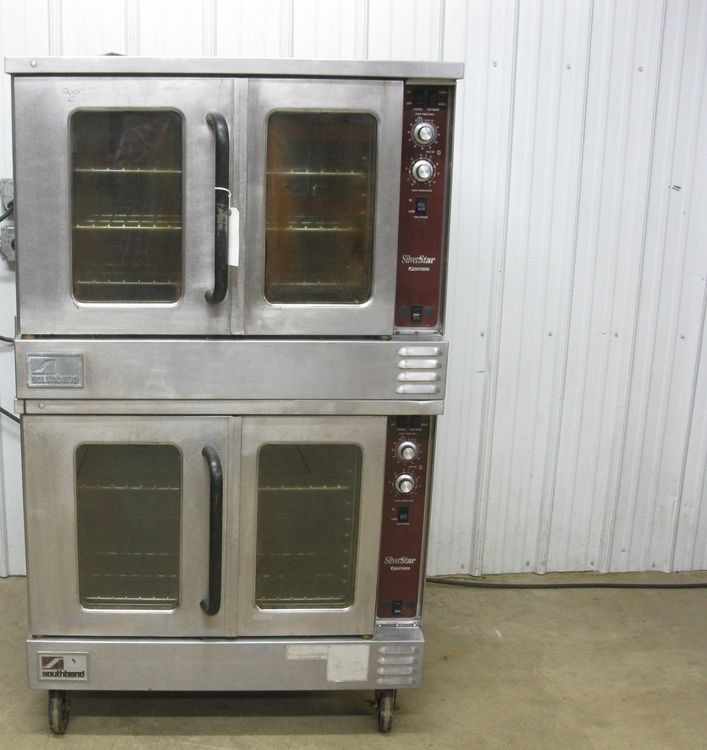Southbend SLGS/22SC Double Stack Deck Convection Oven