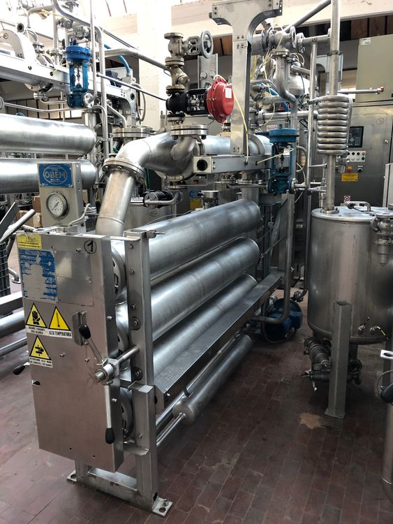 Obem API/O/3 TUBES Packages dyeing
