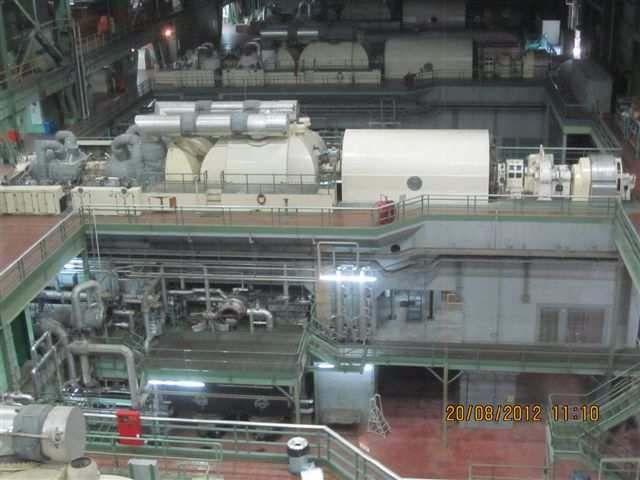 C.A. Parsons Steam Turbine 150/165 MW