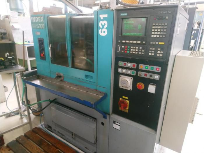 Index cnc control Variable S 100 2 Axis
