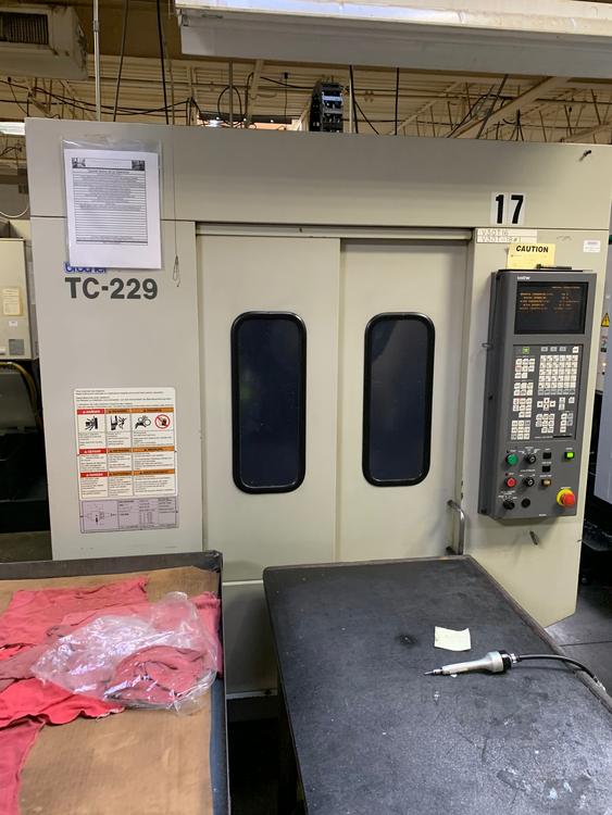 Brother TC229 CNC 820 G-Code Control 10,000 Rpm