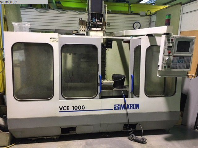 Haas, Mikron - VCE 1000 VF 3 3 Axis