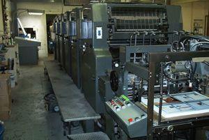 Heidelberg Mof-H, Offset 4 Colours Press Machine 19 x25