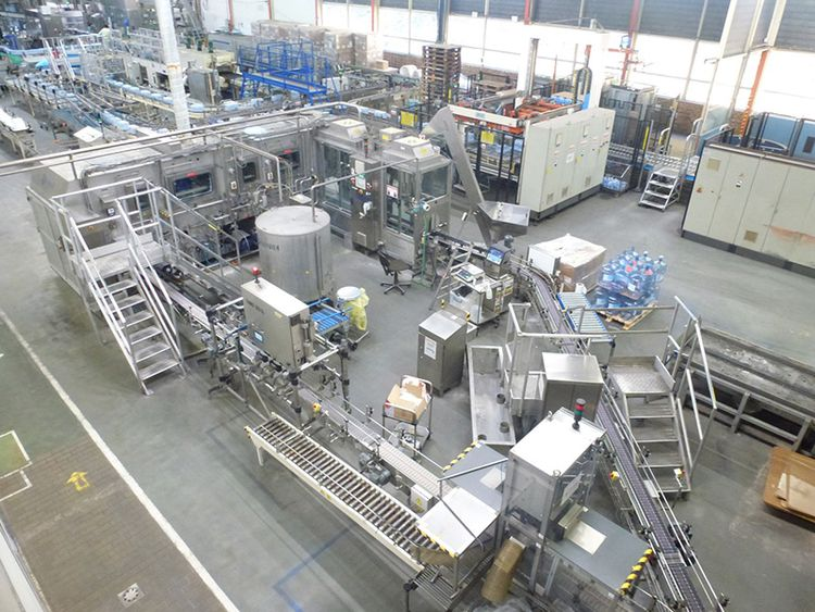 Sidel BARDI  5 GALLON JAR FILLING LINE