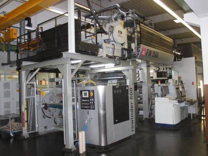 Comexi FW 1508 (Gearless), Flexo Roll to roll machine 8 1150 mm