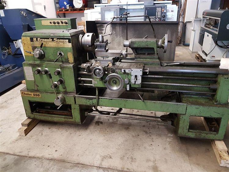 Ernault Somua Engine Lathe Variable Cholet 550 KH 4