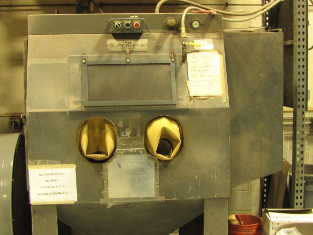 ICM 4800 Blasting Cabinet