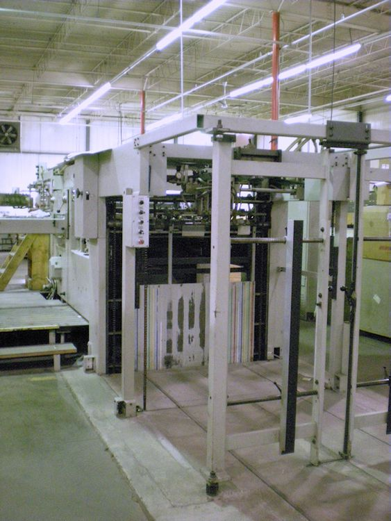 Bobst 126 E Die cut and Foil