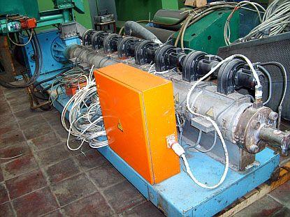 Barmag 90 mm extruder L/D 30