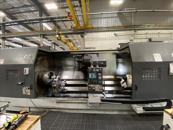 Mori Seiki CNC Controller 1000 rpm SL-603CMC/3000 CNC TURNING CENTER W/ LIVE TOOLING 2 Axis