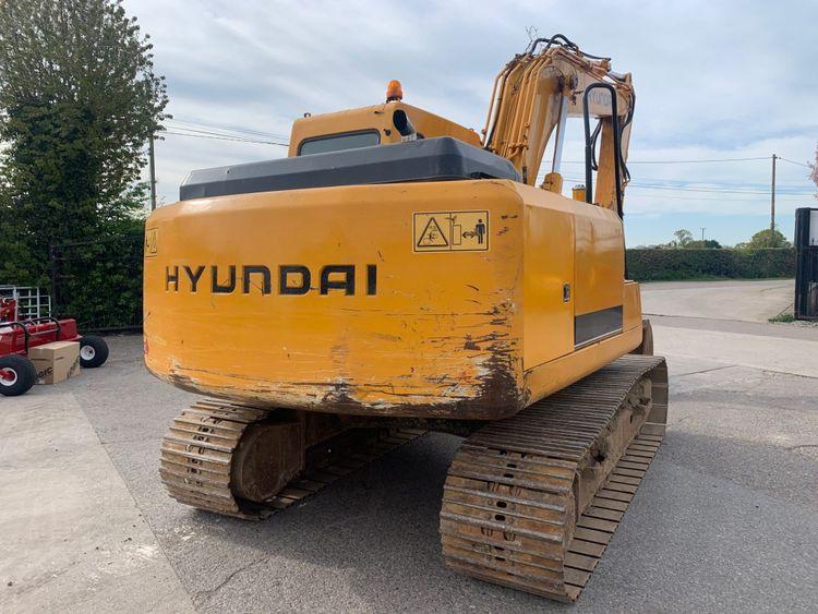 Hyundai ROBEX 140 LC-7 Tracked Excavator