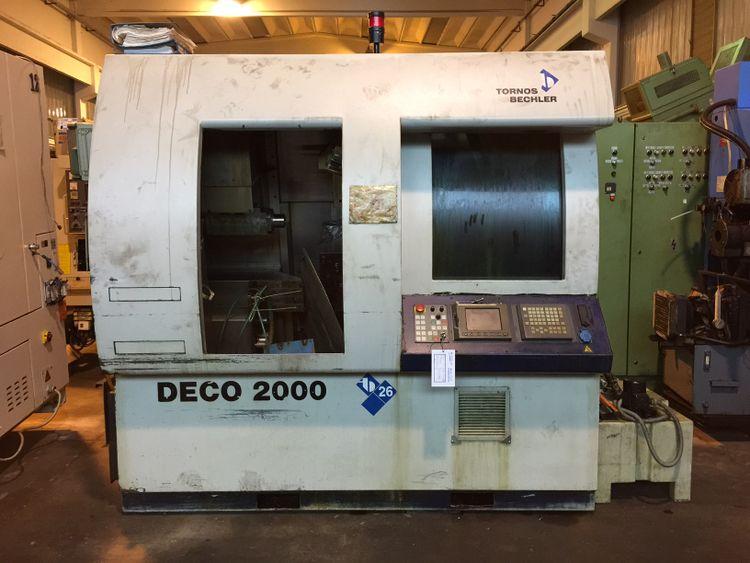 Tornos cnc control 8000 rpm DECO 26 / A 10 axis