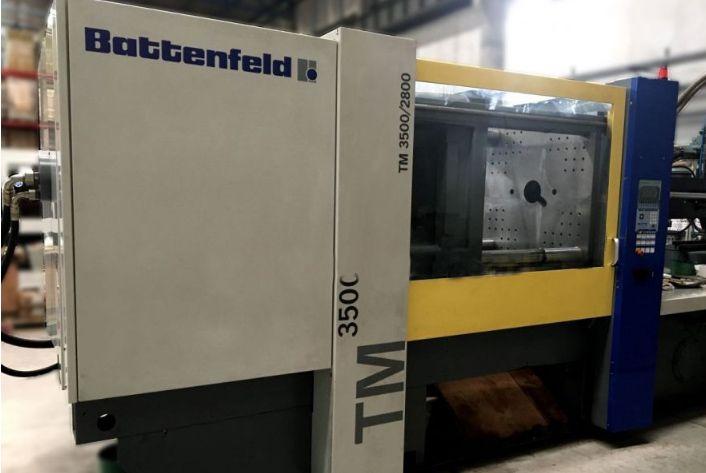 Battenfeld Injection molding machine 350 T