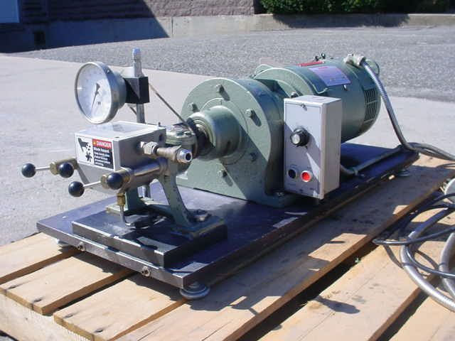 Brabender S120 LAB TABLETOP DOUBLE NABEN ARM MIXER