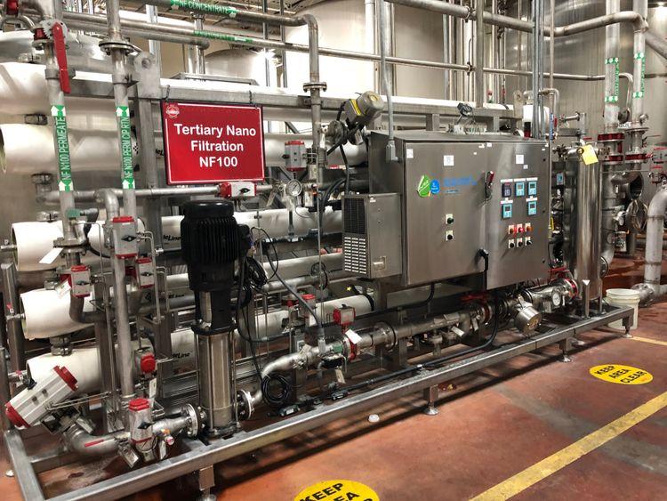 Suez  100 GPM Osmosis System