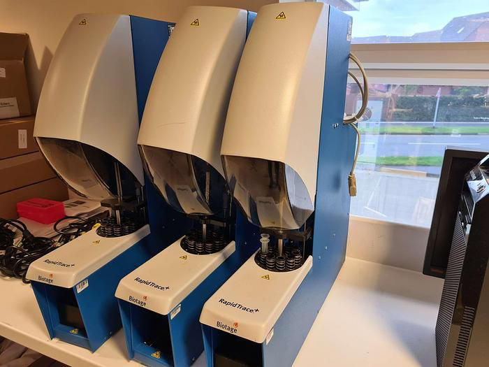 Biotage RapidTrace+ C5000 Automated Sample Preparation