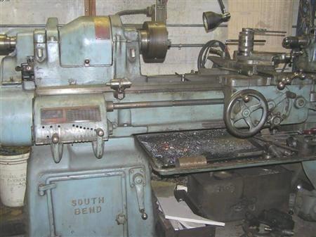 "South Bend Precision Lathe 1580 rpm 16"" Type A"