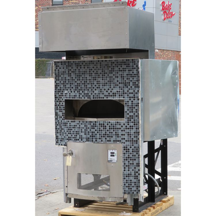 Woodstone WS-MS-5-RFG-IR-NG Foot Pizza Oven